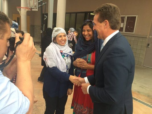 Jeff Flake - mosque