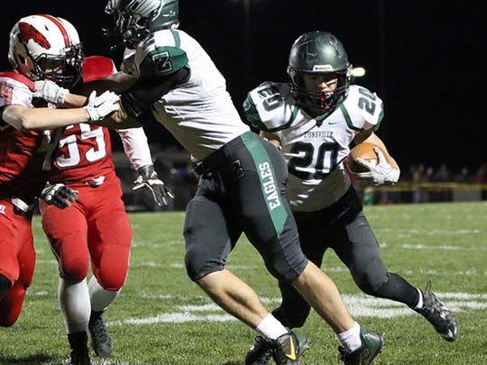 Zionsville RB Brenden Mikesell