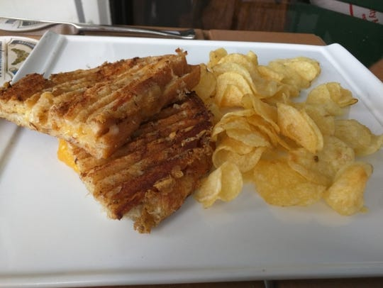 Michael's Table's grilled cheese sandwiches have aged