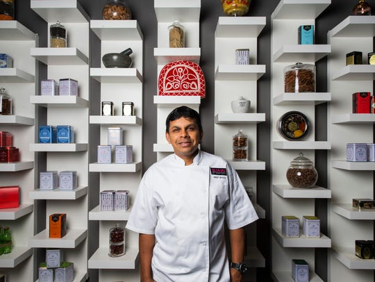 Executive chef Asif R. Syed in his Naples restaurant