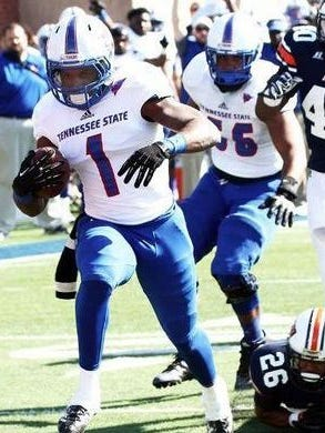 Former TSU running back Tom Smith will play in the Dream Bowl IV on Monday.