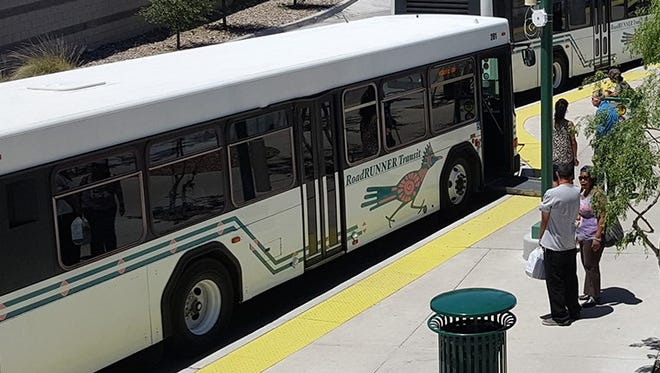 Effective Monday, March 16, RoadRUNNER Transit buses and Dial-a-Ride will be fare-free until further notice.