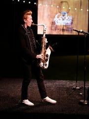 Chase Huna saxophonist