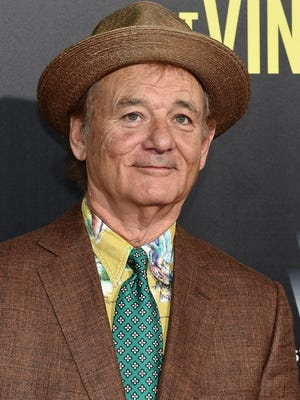 """Actor Bill Murray attends the """"St. Vincent"""" New York Premiere at Ziegfeld Theater on Oct. 6 in New York City."""