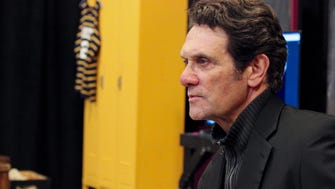 """Milwaukee native Anthony Crivello portrays the famed Marquette University basketball coach in the Milwaukee Repertory Theater's production of """"McGuire."""""""