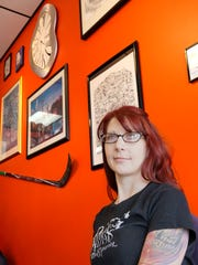 Jamie Bollerud also is a tattoo artist with her husband