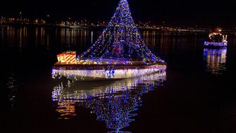 The Republic Sparkling lights will illuminate Tempe Town Lake at the Fantasy of Lights Boat Parade Dec. 12. Fantasy of Lights Boat Parade at Tempe Town Lake.