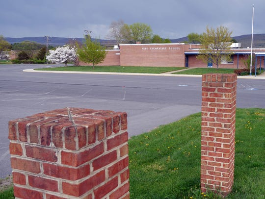 The former Ladd Elementary School on Rt. 340 in Waynesboro,