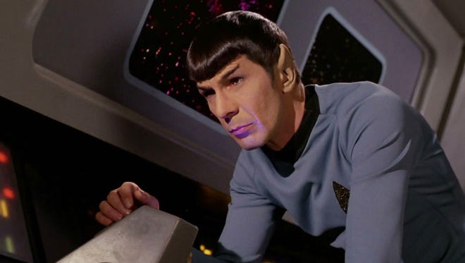 Leonard Nimoy played Dr. Spock from 1965 to 1969.