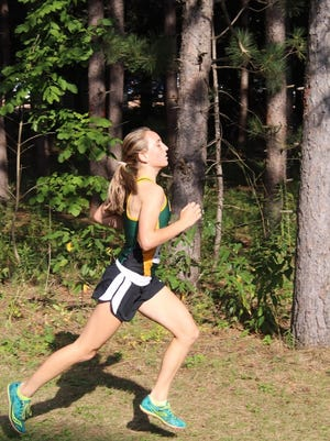 Edgar sophomore Marissa Ellenbecker posted the top Division 3 girls time at sectionals last week after taking third place at state as a freshman.