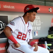 Juan Soto played all of eight games at the Class AA level before being called up to the Washington Nationals on Sunday.