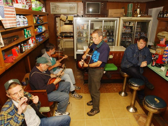 File photo of Marino's Lunch's bluegrass night.