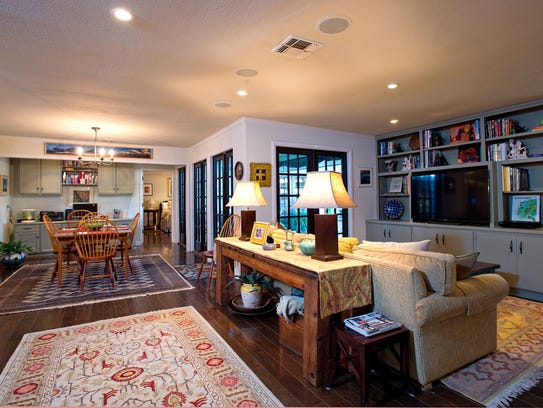Large and open living spaces are just one of the cool