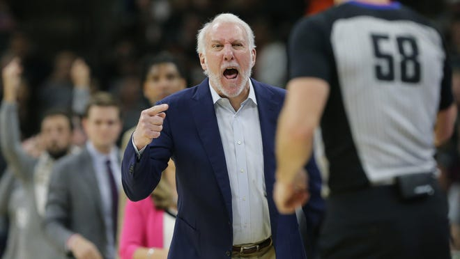 Gregg Popovich has been the Spurs' coach for their entire playoff streak. His 170 playoff victories are more than any two current coaches' postseason wins combined.