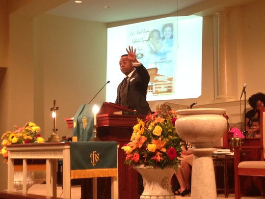 Attorney William Godwin preaches Sunday morning at