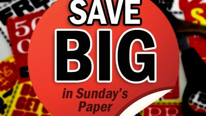 Save Big in Sunday's News-Press