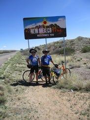 The New Mexico border.