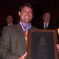 Swain County alum Heath Shuler was inducted into the Western North Carolina sports hall of fame in 2002.