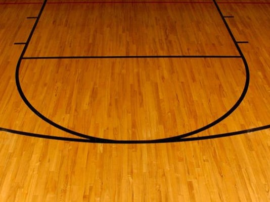 Generic basketball court