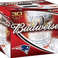 Anheuser-Busch products, including Budweiser, are the official beers of the NFL.
