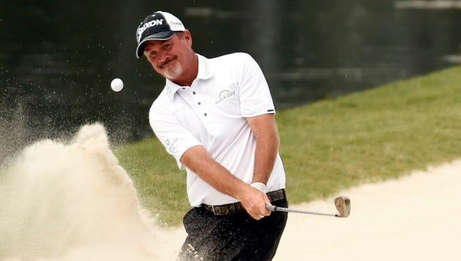 Professional golfer Jerry Kelly.