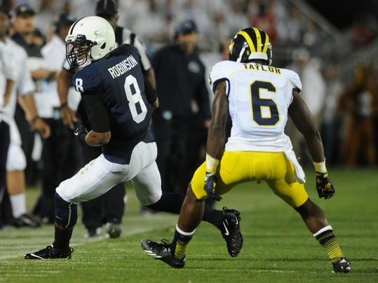 Allen Robinson finally announced that he's taking his highlight-receiving talents to the NFL a year early.