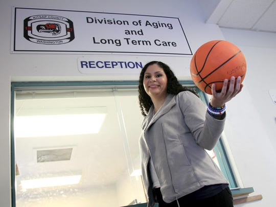 Megan Spence was a standout basketball player at King's West (now Crosspoint Academy). After getting a degree from Lewis & Clark College and a position at Kitsap Mental Health, she is a councilor for Kitsap County's Division on Aging and Long Term Care.