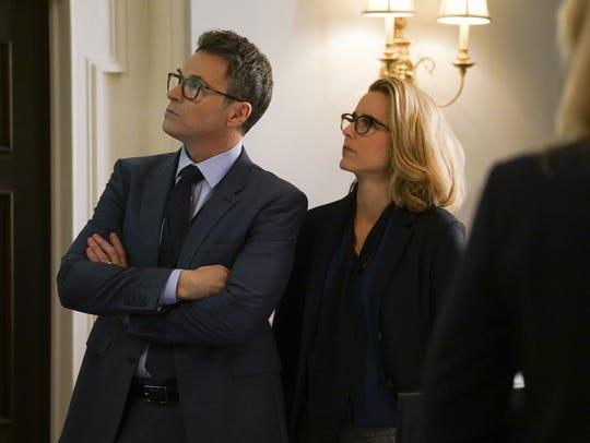 Tim Daly and Tea Leoni in 'Madam Secretary.'