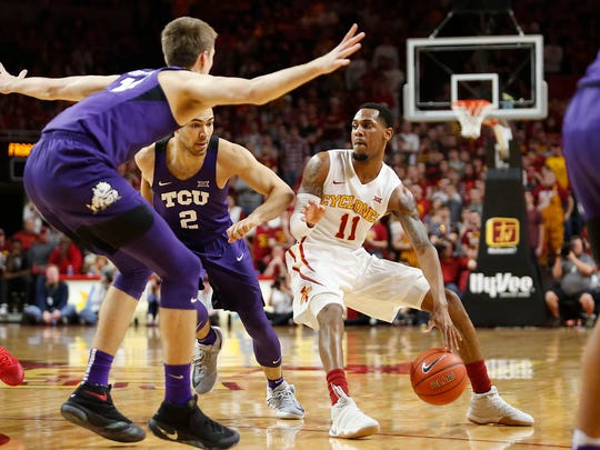 Bubble teams Iowa State and TCU bumped heads, and the