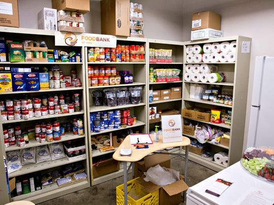 Scavo offers a food pantry for students who aren't sure where their next meal is coming from.