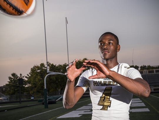 Warren Central's David Bell is a big play waiting to