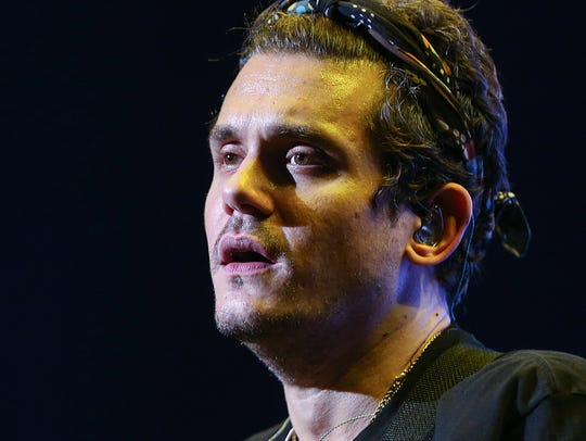 "John Mayer performs at Klipsch Music Center on ""The"