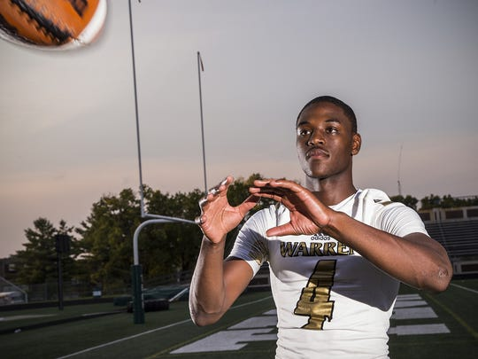 David Bell of Warren Central in Indianapolis is Iowa's top 2019 recruiting target at wide receiver.