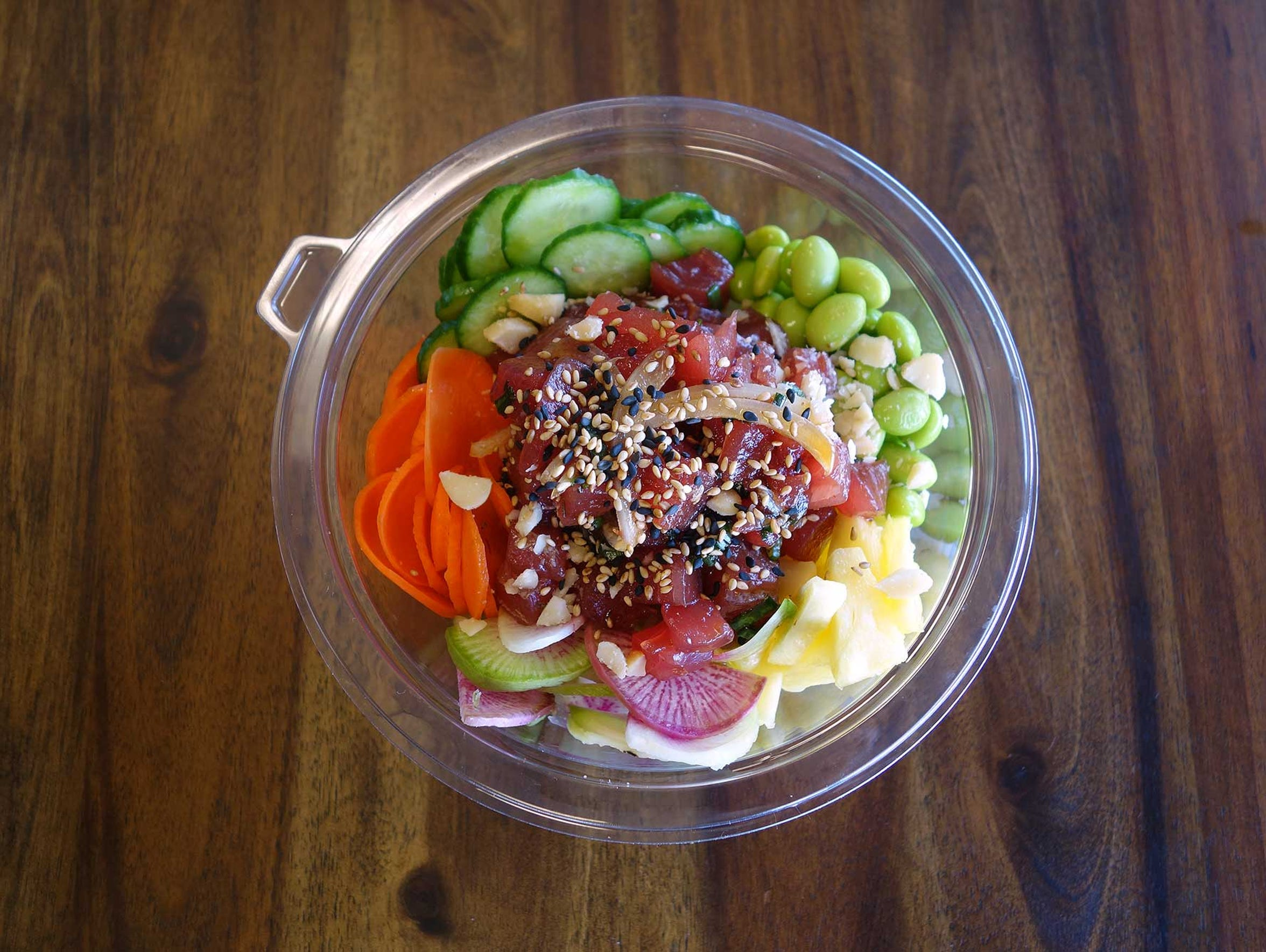 Near Tempe Marketplace is Jon Heflin, Hogan Jamison and Juan Zamora's fish counter slash poke shop where you'll find killer raw fish and chef Zamora's meticulously crafted sandwich specials.