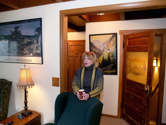 Kimberly King, innkeeper and owner of the Green Cat Guest House Bed & Breakfast in Poulsbo, worries how new county regulations affecting vacation homes could affect her business.