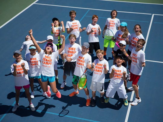 This 2017 photo provided by US Sports Camps shows kids