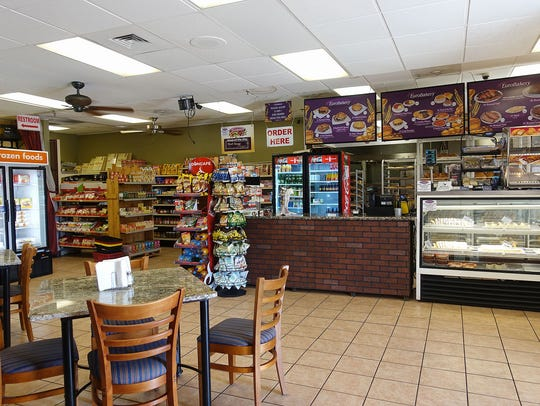 Interior of Euro Bakery in Phoenix.