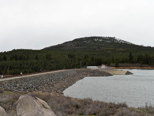 Water Levels at Boca and Stampede Reservoirs
