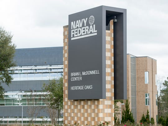 The Navy Federal Credit Union campus on Nine Mile Road