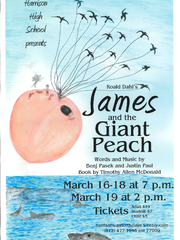 James and the Giant Peach presented by Harrison High School