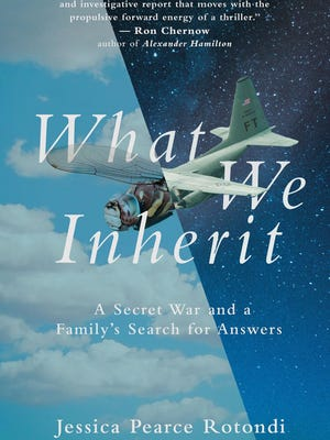"""Jessica Pearce Rotondi's book, """"What We Inherit: A Secret War and A Family's Search for Answers,"""" was an immediate best-seller."""