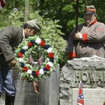 Confederate Memorial Day is observed on the last Monday of April.