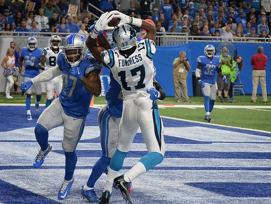 Carolina Panthers at Detroit Lions, lions defense