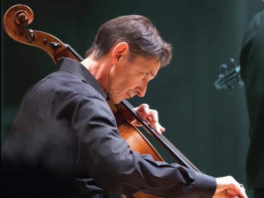 Atlanta Symphony principal cellist Christopher Rex
