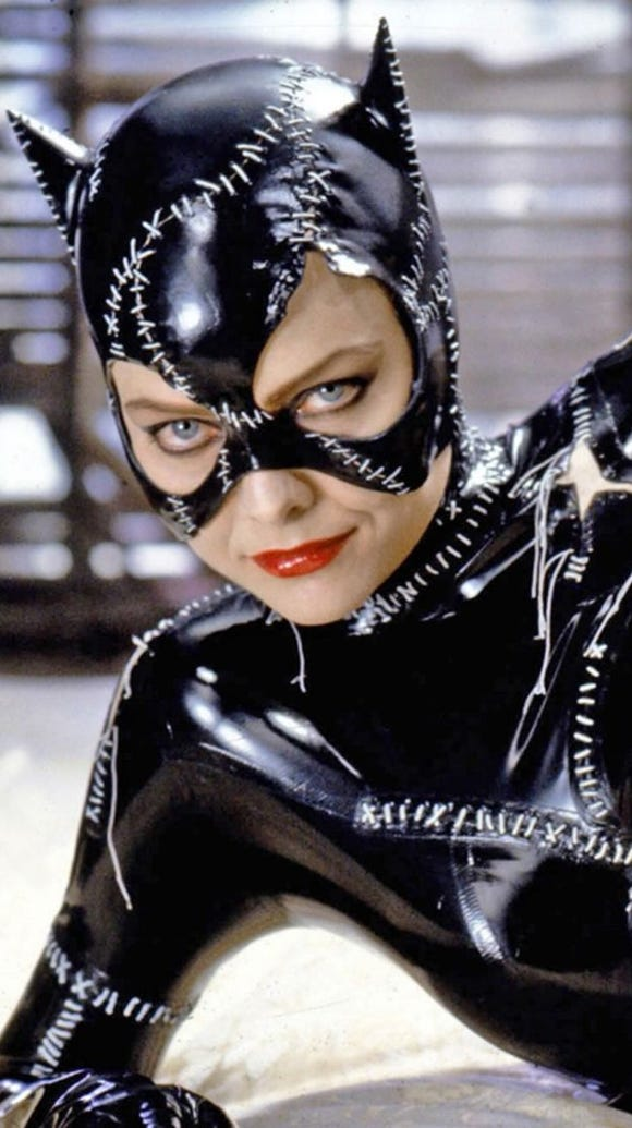Michelle Pfeiffer as Catwoman from the 1992 film 'Batman