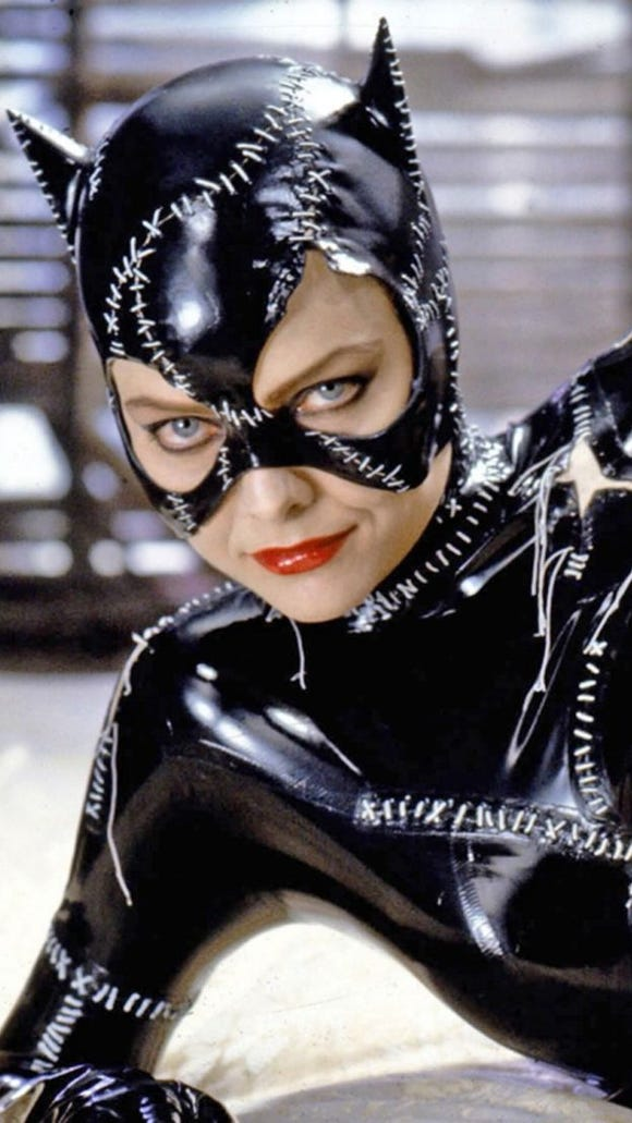 Michelle Pfeiffer as Catwoman from the 1992 film 'Batman Returns.' Credit: Warner Bros.