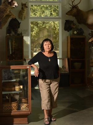 Beverly Folkes, Chumash elder and member of the board of directors of the Chumash Indian Museum, says the facility in Thousand Oaks has closed temporarily.