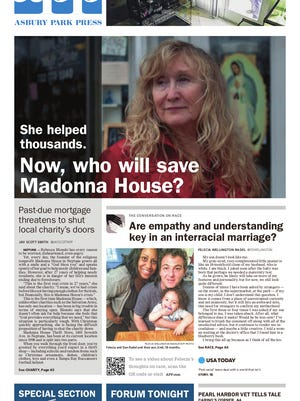 Today's front page.
