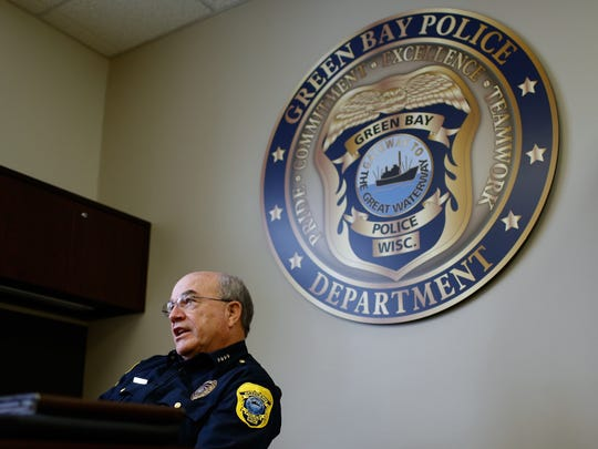 Green Bay Interim Police Chief James Lewis reflects on his current and previous stints as chief at the Green Bay Police Department.