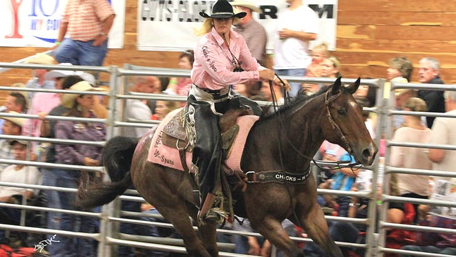 The fifth annual Pink for Peitz Benefit Rodeo is scheduled 8 p.m. Aug. 14-15 at the Mountain Home Saddle Club Arena. Proceeds benefit the Peitz Cancer Support House.